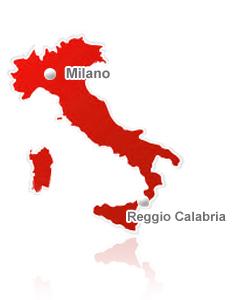 Milano Cartina Italia.Posytron Servizi Informatici Outsourcing Tecnologico
